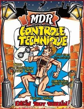 Tee-shirt contrôle technique homme