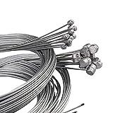 Cable Freno Bicicleta 10pcs / set 2M MTB Línea de freno de bicicleta Línea de velocidad de la bicicleta Cambio de transmisión de cambio de engranajes de engranaje de engranaje de engranajes Neaver cab
