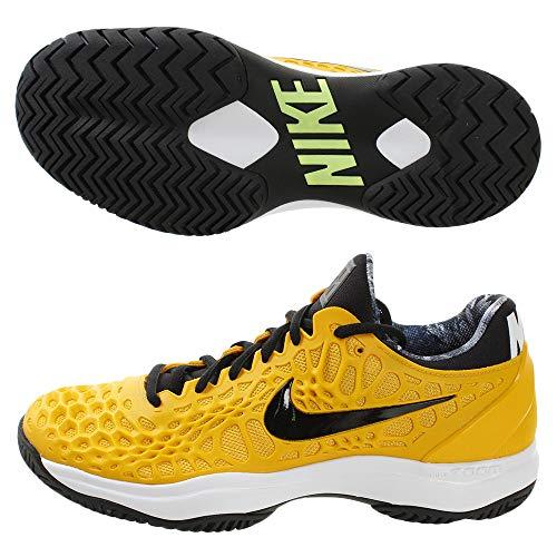 Nike Herren Air Zoom Cage 3 Hc Tennisschuhe, Mehrfarbig (University Gold/Black/White/Volt Glow 700), 48.5 EU