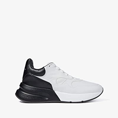 Alexander McQueen Color Block Runner (Optic White/Black) Men