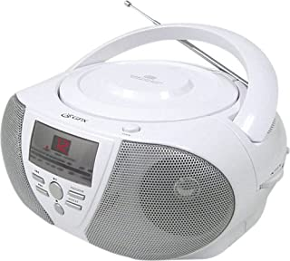 GPX BCD1806 Boombox with CD Player and AM/FM Tuner