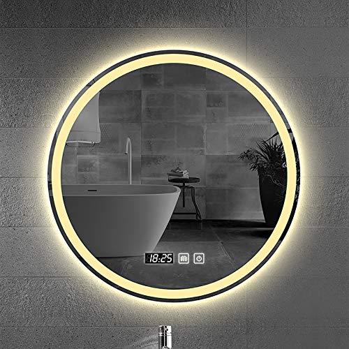 LED Espejo Pared Baño con Alto Lumen + Temperatura De Color Ajustable + Función De Atenuación + Impermeable + A Prueba De Explosiones