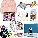 HP Sprocket Impresora fotográfica instantánea portátil de 2x3 Pulgadas (Rosado) Kit de álbumes