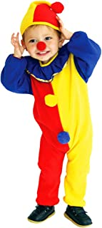 Baby Boys Red Nose Halloween Carnival Clown Circus Cosplay Costumes