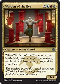 Magic The Gathering - Warden (212/269) - Khans of Tarkir