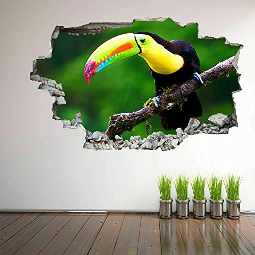 DDSYJ Etiqueta de la pared 3d Arte De La Impresión Autoadhesiva De Las Calcomanías Murales Del Coche Deportivo