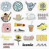 20 Cute Funny VSCO Girl Stickers for Water Bottles,Laptops Big