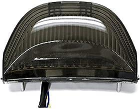 Anzene 2003-2006 CBR 600rr Cbr600 2004-2007 CBR 1000rr Cbr1000 Rr luces traseras LED Luces traseras de freno con intermitentes integrados Indicadores de humo Motocicleta