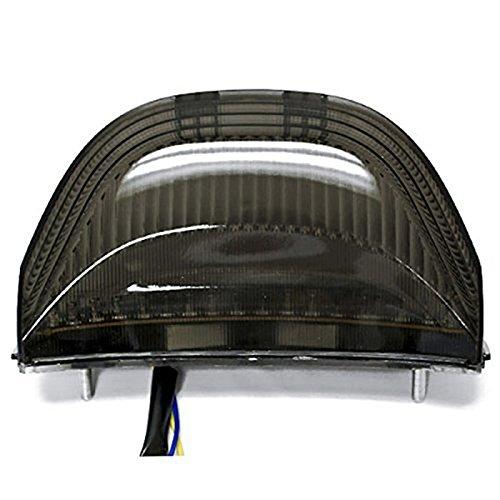 Anzene Feux arrières à LED Feux de stop avec clignotants intégrés Indicateurs Smoke Motorcycle 2003-2006 Honda CBR 600rr Cbr600 2004-2007 Honda CBR 1000rr Cbr1000 Rr