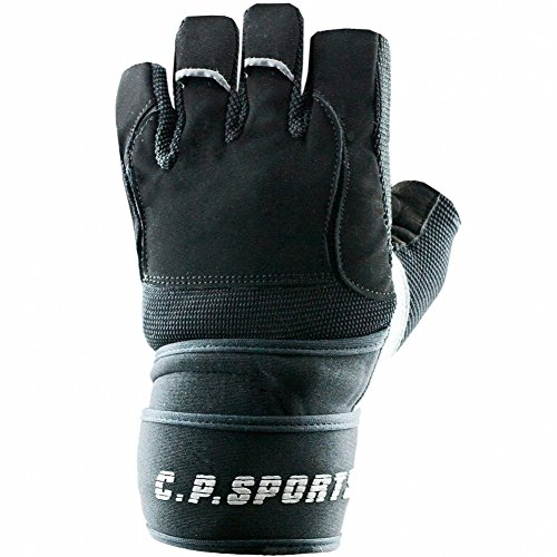 C.P. Sports Trainingshandschuhe Gym - Guantes para Fitness, Color Multicolor, Talla XL