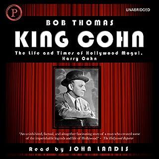 King Cohn audiobook cover art
