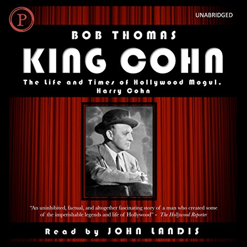 King Cohn audiobook cover art