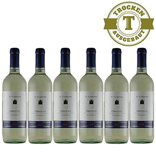 Weißwein Italien Orvieto Classico IL CARPINO trocken (6x0,75l)