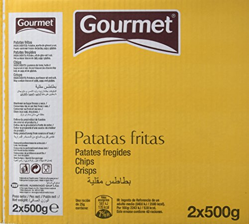 Gourmet Patatas Fritas, 2 x 500g