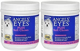 Angels' Eyes PLUS Tear Stain Remover Soft Chews Beef 240ct (2 x 120ct)