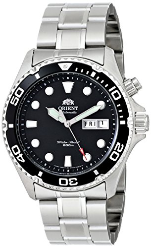 Orient Men's EM65008B Ray Stainless Steel Automatic Watch