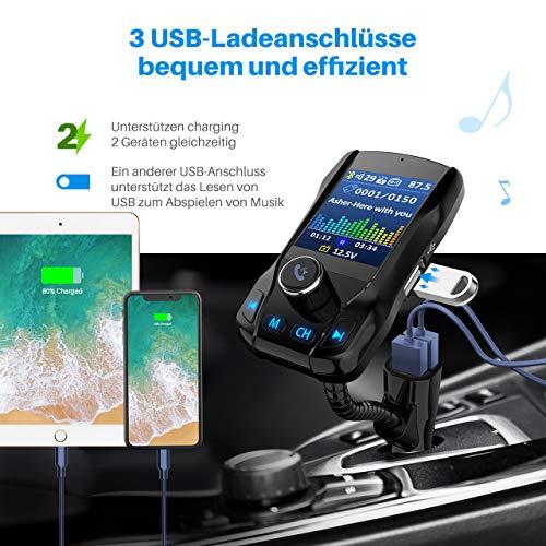Omorc Bluetooth FM Transmitter - 5