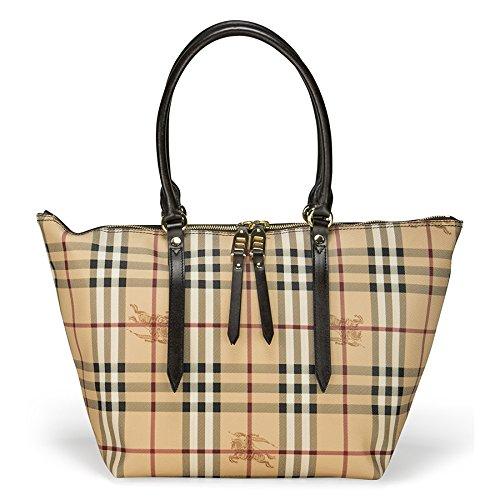 2fca715effb6 Burberry Haymarket Salisbury Check Tote Bag