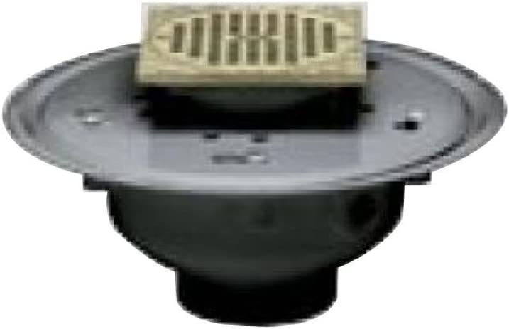 Oatey 82146 ABS Kansas City Mall Adjustable Commercial Drain We OFFer at cheap prices BR with Grate 6-Inch