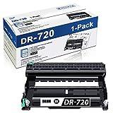 DR720 1 Pack(Black) Compatible DR-720 Drum Unit (Toner Not Included) Replacement for Brother hl-5450DN 5470DW/DWT DCP-8110DN 8150DN MFC-8710DW 8810DW 8910DW Printer Drum Unit
