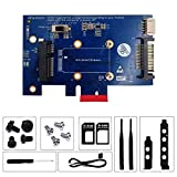 PCIE X1 WiFi Card for PC, Mini PCI-E to PCI-E 1x Adapter with SIM Card Slot for WiFi from 3G/4G/LTE