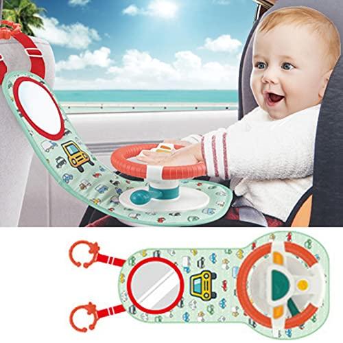 Volante de Coche para Bebé - Simulación Juguetes Conducción con Sonido - Juguete Música...