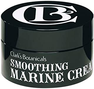 Clark's Botanicals Smoothing Marine Cream, Lightweight Daily Moisturizer, Anti-Aging, Hydrating, Gently Exfoliating, 1.7 Fluid Ounce