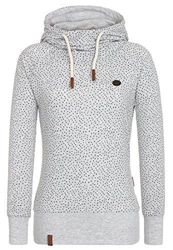 Naketano Garden Furniture Gangster Hoodie Grey Melange Size: XS Colour: Grey