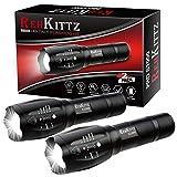 REHKITTZ Torcia Super Luminosa Portatile LED Torcia (2...