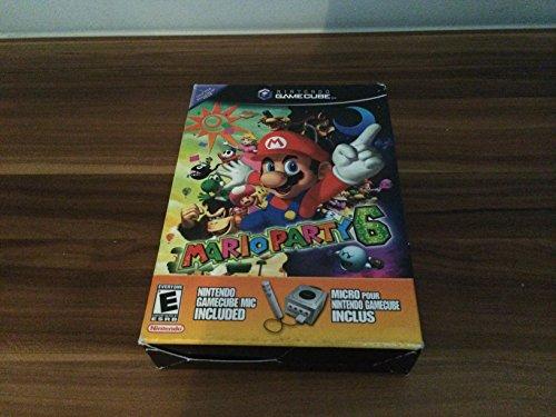 Mario Party 6 with Microphone (GameCube) [Importación Inglesa]