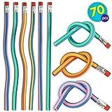 THE TWIDDLERS 70pcs Biegbare Bleistifte - Qualität Biegebleistifte Kinder Set } Geburtstag...