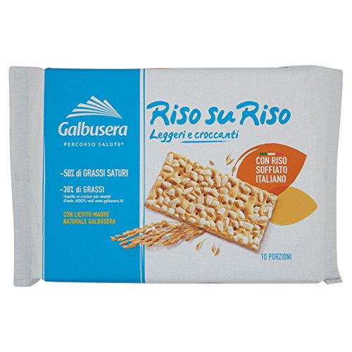 Galbusera Riso su Riso Crackers, 380g