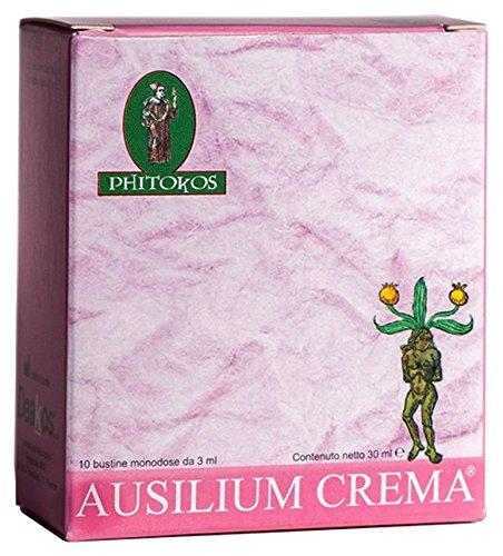Phitokos Ausilium crema bustine- Lubrificante, lenitivo, antibatterico, riepitelizzante- con D-mannosio