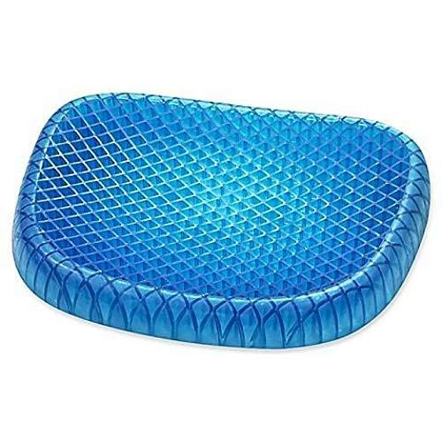 Koyoodo Cojín de gel elástico suave nido de abeja asiento de coche cojín verano transpirable masaje cojín de silicona enfriamiento Mat