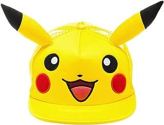 bioWorld Pokémon Pikachu Big Face with Ears Hat, One Size