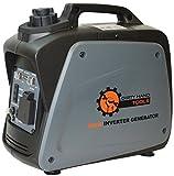 Dirty Hand Tools | 104609 | 800 Watt 5.8 Amp Gas Powered Inverter Generator | Portable Power Supply...
