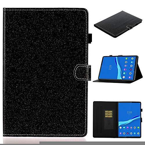 MDYHMC YXCY AYDD para Lenovo Tab M10 Plus TB-X606F Funda de Cuero Horizontal Flip Horizontal Funda con Soporte y Ranura para Tarjeta y función de Despierta (Color : Black)