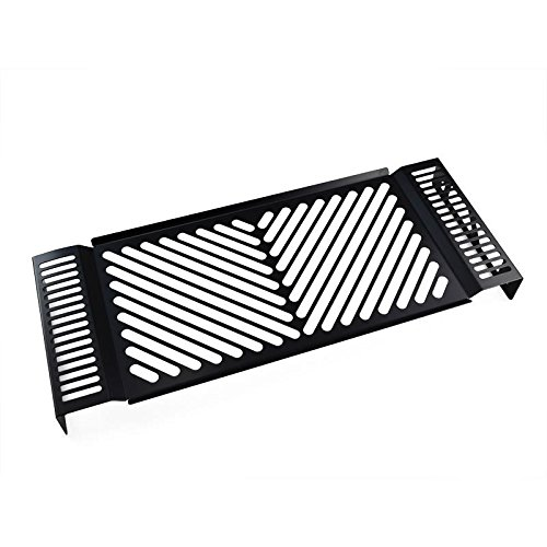 IBEX 10001377 radiatorafdekking waterkoeler radiator grill radiator beschermrooster radiatorbekleding design Clean zwart