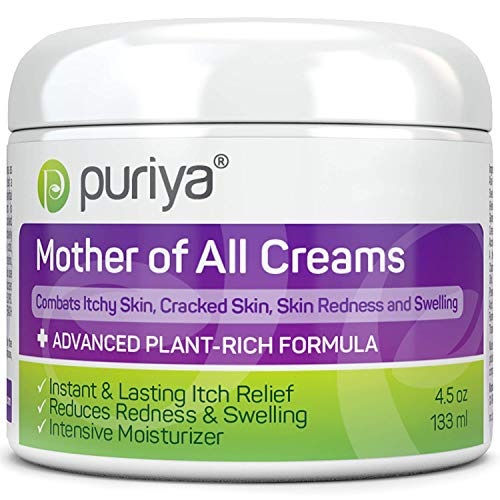 Puriya Intensive Moisturizing Cream for Sensitive and Irritated Skin, Dermatologist Reviewed, Clinically...