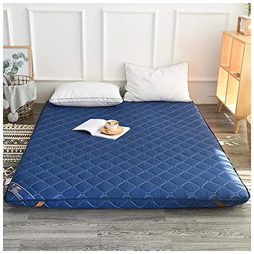 Colchón Tatami,5cm Espesar Y Calentar Colchón Futon,Dormitorio Estudiantil Soltero Twin Folding Colchón Futon