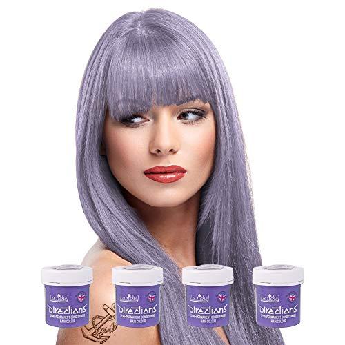 4 x La Riche Directions Semi-Perm Hair Colour Antique Mauve 4x 88ml