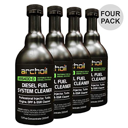 Archoil AR6400-D Diesel Fuel System Cleaner (Four Pack) - Cleans Injectors, Turbo & DPF