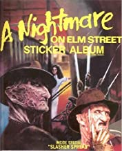 A Nightmare ON ELM STREET STICKER ALBUM