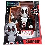 JADA Metals Marvel - Figura de Deadpool (10,16 cm), Color Blanco y Negro