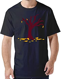 ZYXcustom DIY Tree T-Shirt for Men