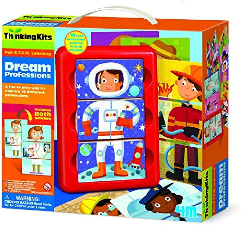 Fantastic Gift Ideals Tolles Geschenk. Kind Rechtschreib- und Zahlenspa. Thinking Kits - Traumjobs