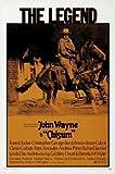 CHISUM - JOHN WAYNE     Imported Movie Wall Poster