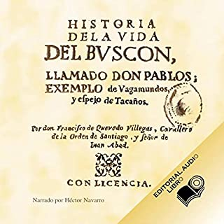 Couverture de Historia de la Vida del Buscon (Texto Completo) [Life History of the Petty Thief ]