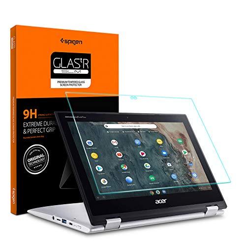 Spigen Protetor de tela de vidro temperado projetado para Acer Chromebook Spin 311 conversível (11,6 polegadas / CP311-2H-C679) / Chromebook R 11 conversível (11,6 polegadas) [Dureza 9H]