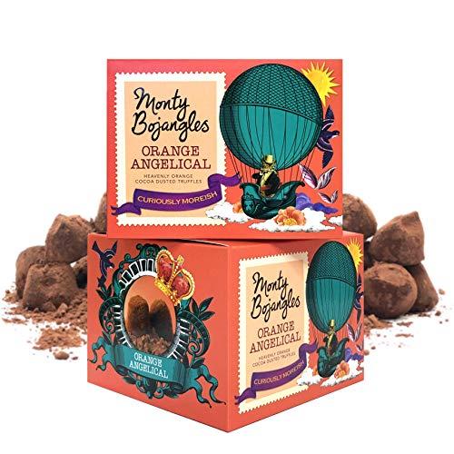 Monty Bojangles Orange Angelical Kakao bestäubte Pralinen, 2 x 150g Geschenkboxen
